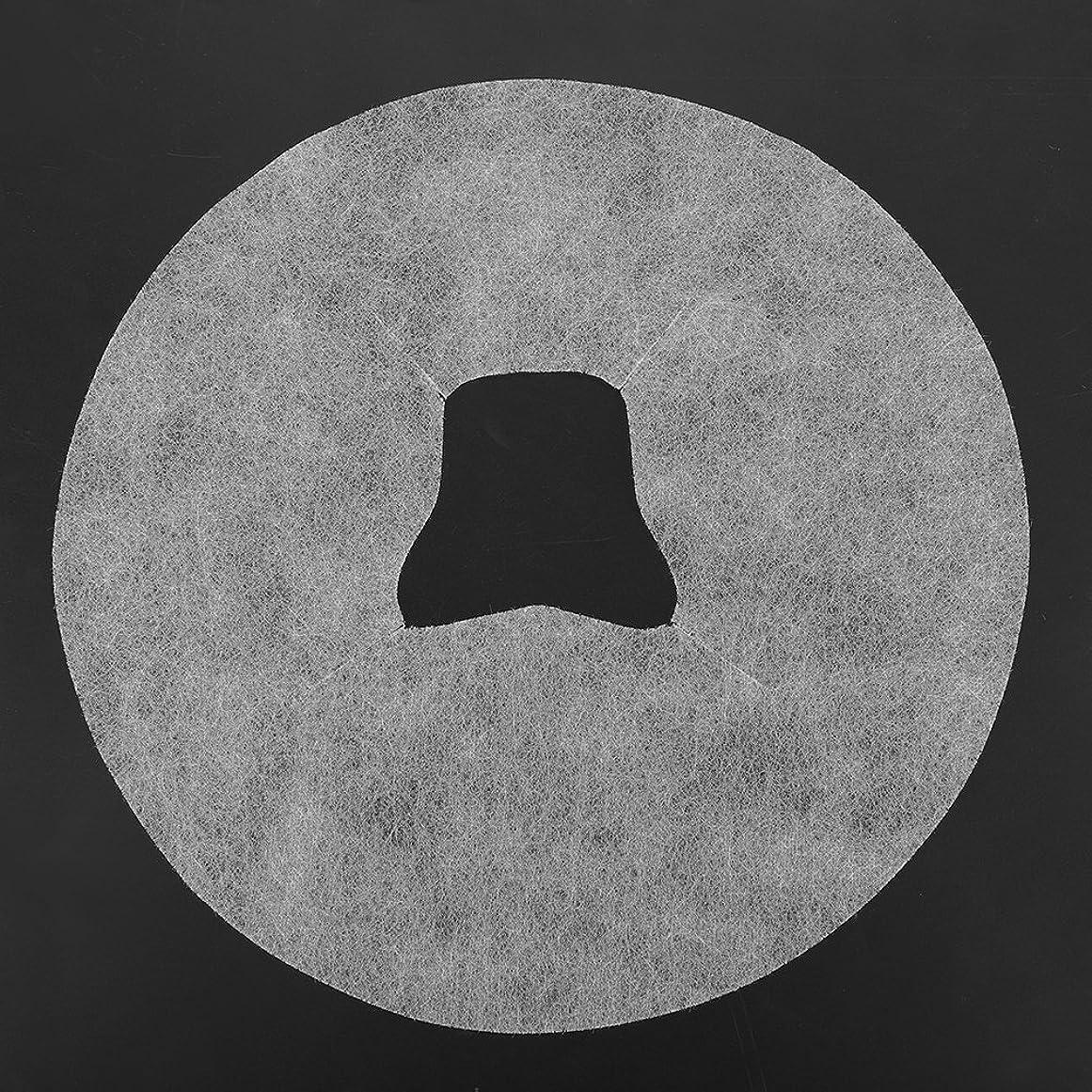うつシティ馬鹿SoarUp 【100枚入】 フェイスマッサージパッド 使い捨てタオル 顔用 使い捨て 不織布材料 通気性 美容院?スパ?美容マッサージ専用 衛生的 安全 ホワイト