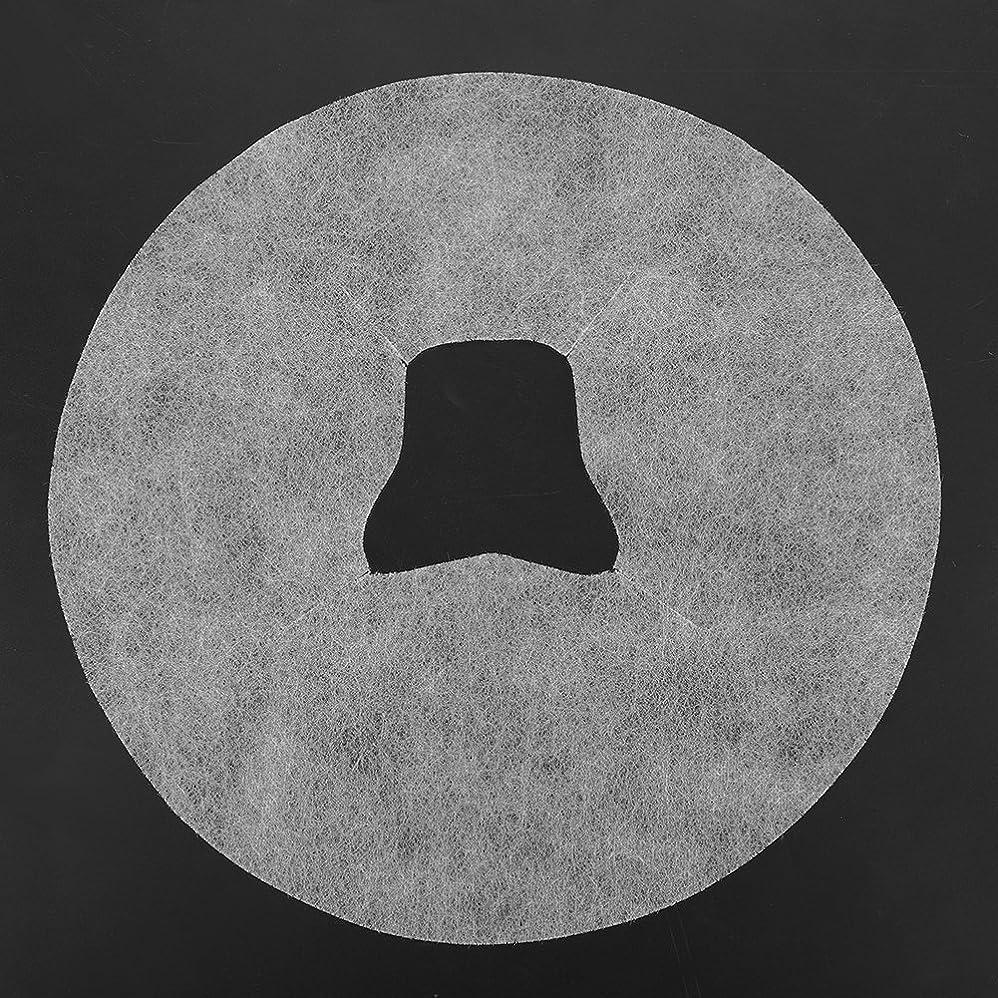 訴える宿題節約するSoarUp 【100枚入】 フェイスマッサージパッド 使い捨てタオル 顔用 使い捨て 不織布材料 通気性 美容院?スパ?美容マッサージ専用 衛生的 安全 ホワイト