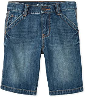 The Children's Place Boys Husky Denim Shorts