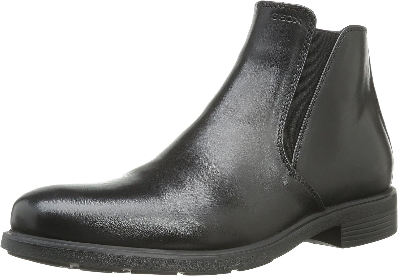 Geox Men's U Dublin D Everyday Comfort Ankle Boots