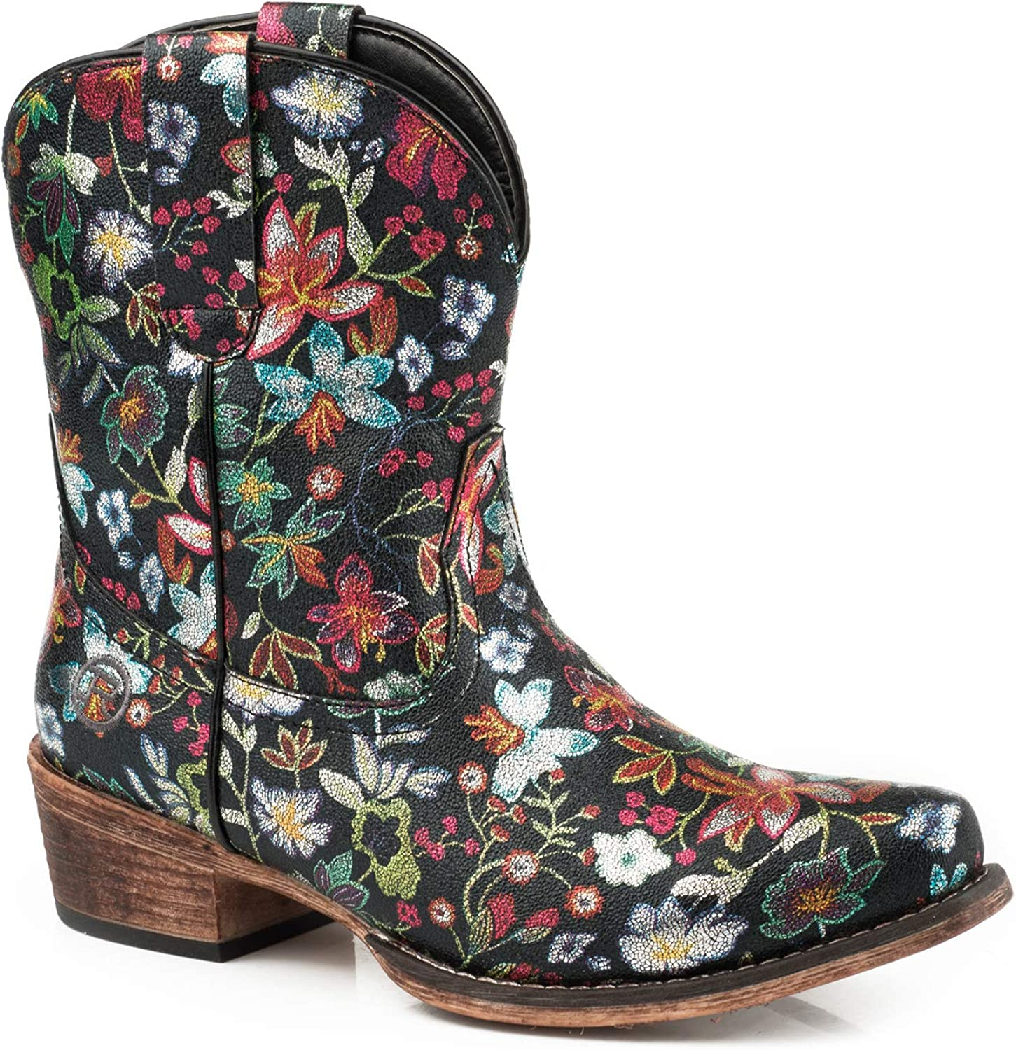 ROPER Special price for a limited time Women's Classic Ingrid Floral Snip Western Booties Toe