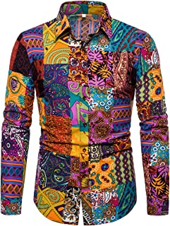 all over print button shirt