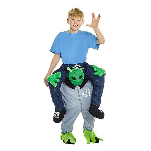 Alien Piggyback Mens Costume Size OS