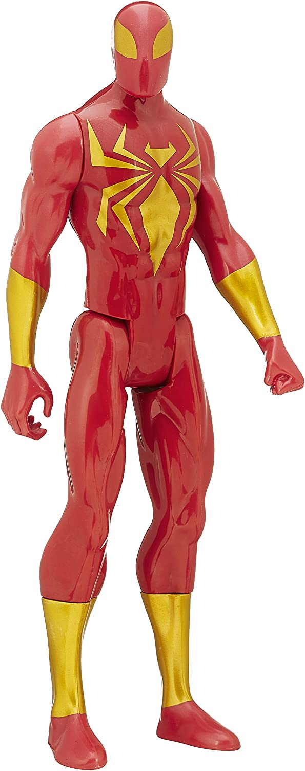 Marvel SpiderMan Titan Hero Series Iron Spider Figure