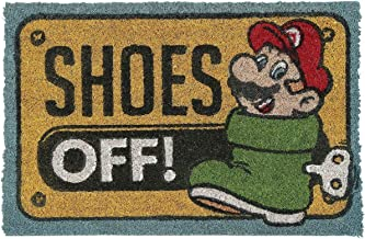 Super Mario GP85125 40 x 60 cm Mario Doormat, Multi-Colour