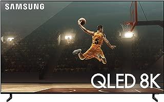 Samsung QN65Q900RBFXZA Flat 65-Inch QLED 8K Q900 Series Ultra HD Smart TV with HDR and Alexa Compatibility (2019 Model), Black