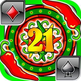 Chili Soup Blackjack 21 Free for Kindle Fire Spicy Diamond Blackjack Games Free Offline Blackjack Free Multi Cards Tap No Wifi doesn't need internet best Blackjack games