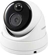Swann 5MP Dome NVR Security Camera with Heat & Motion Sensing + Night Vision