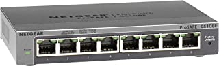 NETGEAR GS108E-300AUS PROSAFE Plus 8 Port 10/1000 GIGABIT L2 Switch Desktop Life WTY