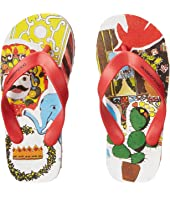 Dolce & Gabbana Kids - Animal Print Flip Flop (Little Kid/Big Kid)