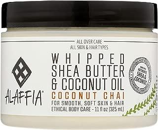 Alaffia Whipped Shea Butter & Coconut Oil Coconut Chai, 11 Ounce