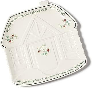 Pfaltzgraff Winterberry Figural Sharing Platter