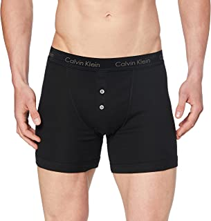 Calvin Klein Men's Basics Button Front Boxer Briefs