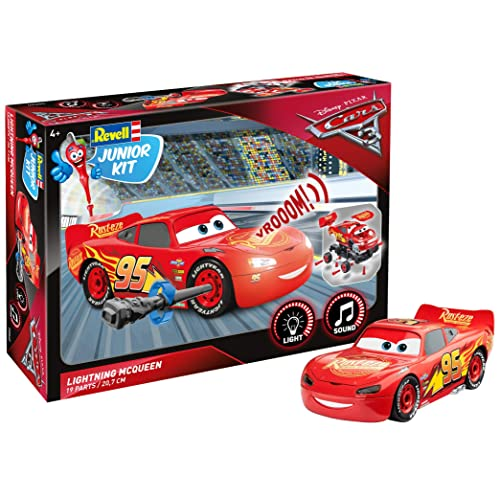 Revell Junior Kit - 00860 - Flash McQueen à Construire - Cars 3