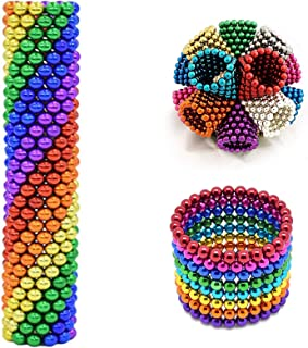 Office Desk Toy /& Stress Relief 5MM Set of 512 Magnets Building Blocks Toys for Intelligence Learning Development and Creative Educational Toy