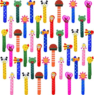 40 Pieces Cute Animal Bookmarks Cartoon Bookmarks Novelty Bookmarks for School Stationery Gift Office Supplies