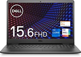 【Microsoft Office Home&Business 2019搭載】Dell ノートパソコン Inspiron 15 3501 ブラック Win10/15.6FHD/Core i7-1165G7/8GB/512GB/Webカメラ/無線...