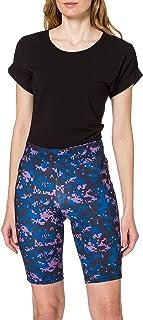 Urban Classics Ladies High Waist Camo Tech Cycle Shorts Pantalones Cortos de Yoga para Mujer