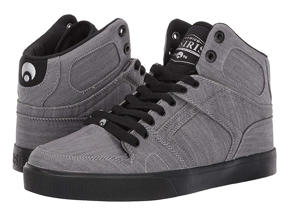 Osiris NYC83 VLC DCN (Grey/Denim/Black) Men's Skate Shoes, Gray