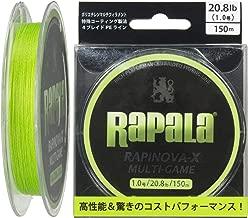 Rapala(ラパラ) PEライン ラピノヴァX マルチゲーム 150m 4本編み RLX150M