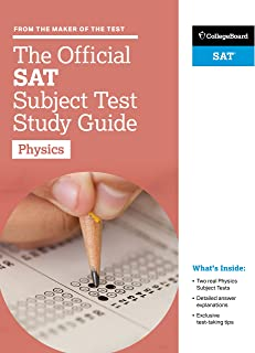 The Official SAT Subject Test Physics (Official Sat Subject Test in Physics) (Study Guide)