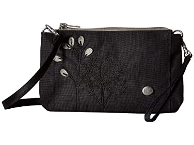 Haiku Stride (Black Morel) Cross Body Handbags