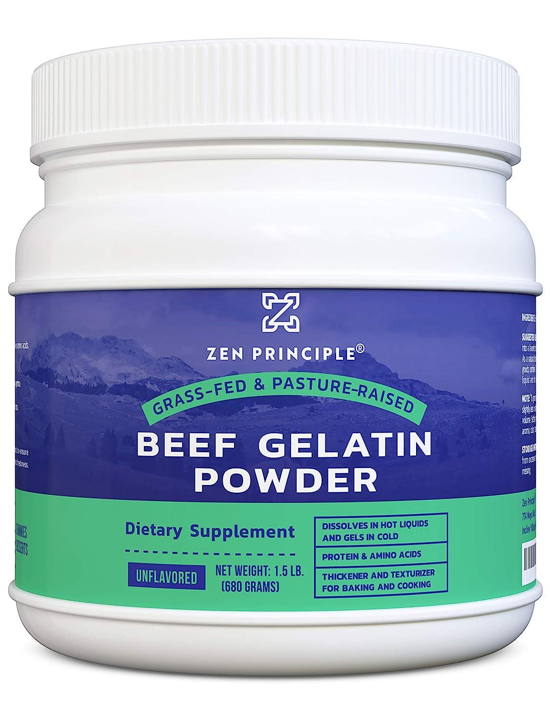 Grass-Fed Gelatin Powder 1.5 lb. Custom for free Mesa Mall Protein Anti-Aging