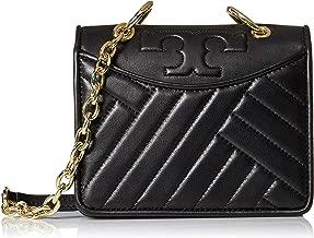 Alexa New Mini Convertible Black Leather Shoulder Bag 6.77