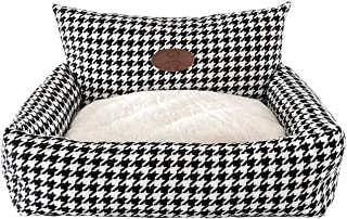 Warm Comfort Winter home fabric houndstooth pet removable and washable sofa