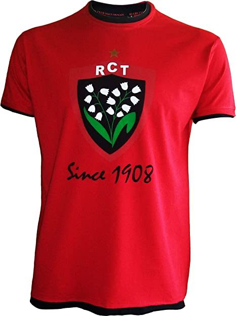 Rugby Club Toulonnais - Maglia Rugby Club Toulonnais, collezione ufficiale, top 14, da bambino