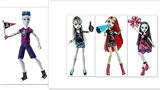 Monster High Dolls Ghoul Spirit Slo Mo Sloman Frankie Stein Venus McFlytrap Spectra Vondergeist Bundle of 4