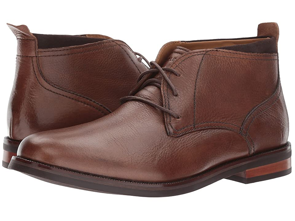 Cole Haan Ogden Stitch Chukka II (Dark Brown Grain) Men