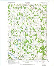 YellowMaps Browerville SW MN topo map, 1:24000 Scale, 7.5 X 7.5 Minute, Historical, 1966, Updated 1967, 27.23 x 21.53 in