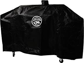 Smoke Hollow GC1000  65 Grill Cover, Heavy Duty Weather-Resistant Polyester Material