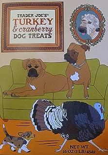Trader Joe's Turkey & Cranberry Dog Treats