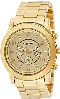 Akribos XXIV Women's Ultimate Quartz Multifunction Bracelet Watch