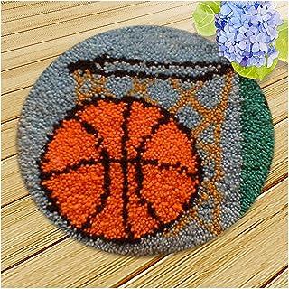 Lanrui Kits de Fils de Crochet DIY, Kits d'artisanat de Crochet de loquet, 15 x 15 Pouces Petits Plateaux Faisant de l'art...