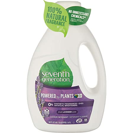 "Detergente Liquido Concentrado Combate las Manchas Seventh Generation ""Blue Eucalyptus & Lavender"" 1.47L"