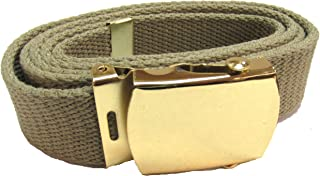 Military Uniform Supply Web Belt - 54 Inch