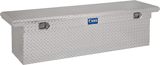 UWS EC10791 69-Inch Heavy-Wall Aluminum Deep Truck Tool Box with Low Profile, RigidCore Lid