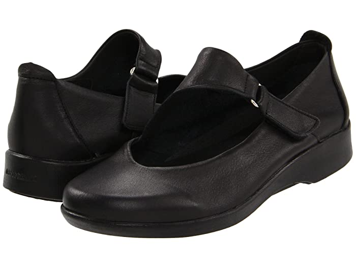 Arcopedico  Ellery (Black) Womens Slip on  Shoes