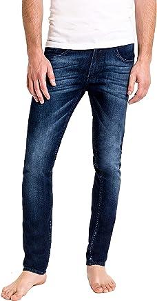 Duc Denim - Jeans Para Hombre - Louis the Liberal - Washed Blue - Slim Fit - Jeans Azules - Alta Calidad de Mezclilla - Corte Ajustado - Fit Perfecto - Estilo Moderno - Denim - Para Caballero - Skinny - Se Estiran - Mezclilla Elastica