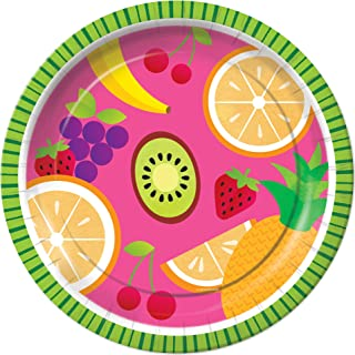Tutti Frutti Tropical Fruit Dinner Plates Party Tableware Supplies Decorations