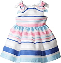 Stripe Organza Dress (Infant)