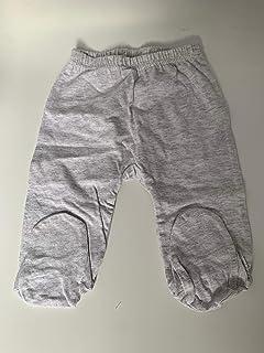 Yatsi 16109026 - Set para Bebé Recién Nacido Camiseta con Polaina - Color Gris - Talla 3 meses