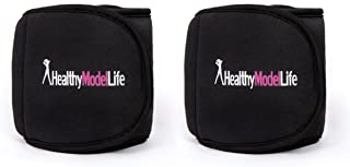 HEALTHYMODELLIFE Ankle Weights Set by Healthy Model Life – 0.5lb, 1lb, 2lb, 5lb and..