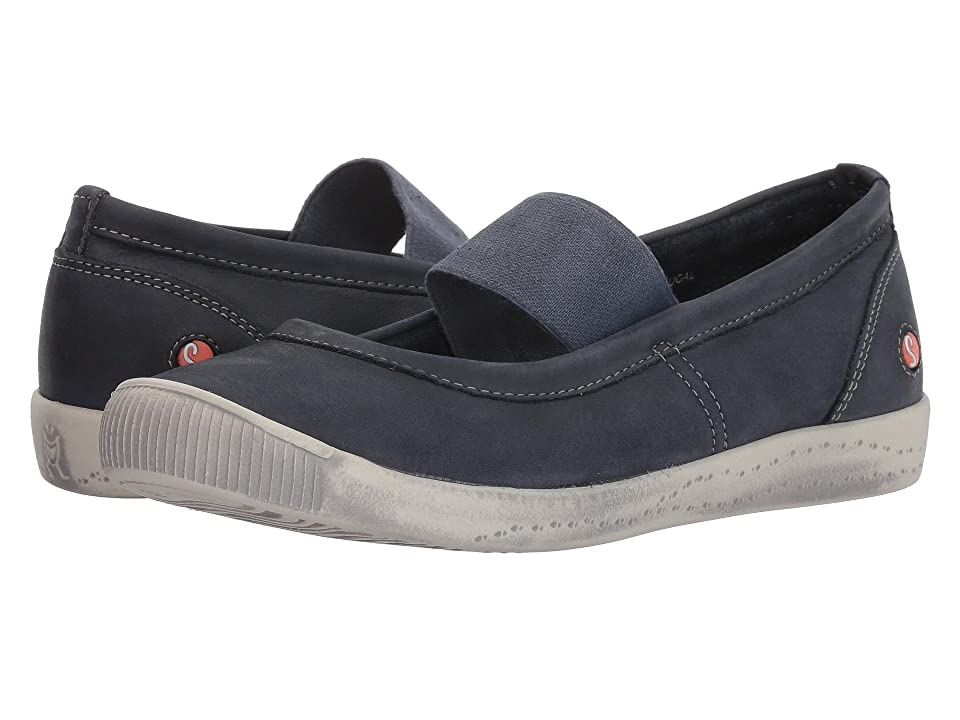 FLY LONDON ION446SOF (Navy Washed Leather) Women