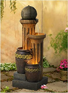 John Timberland Outdoor Floor Water Fountain 50
