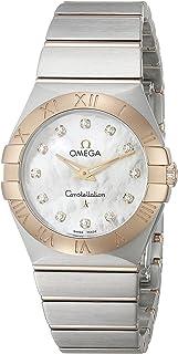 Constellation de la mujer 27 mm caja de acero cuarzo reloj 123.20.27.60.55.002