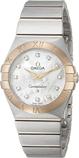 Women's 12320276055002 Constellation Diamond-Accented Stainless Steel and 18k Gold Watch